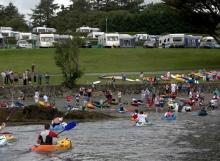 Kayaking home